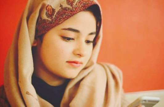 Zaira Wasim www.thecherrytree.in Woman Special 2016